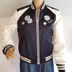 Brand New Coach Jacket Navy Blue MSRP $598